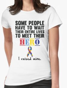 Autism Hero Womens Fitted T-Shirt