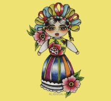 Mexican Doll Baby Tee