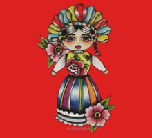 Mexican Doll One Piece - Short Sleeve