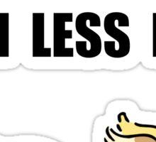 Neutering Nuts Dog Sticker
