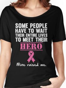 Breast Cancer Hero Women's Relaxed Fit T-Shirt