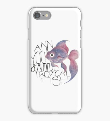 Beautiful Tropical Fish iPhone Case/Skin