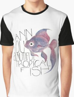 Beautiful Tropical Fish Graphic T-Shirt