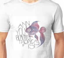 Beautiful Tropical Fish Unisex T-Shirt