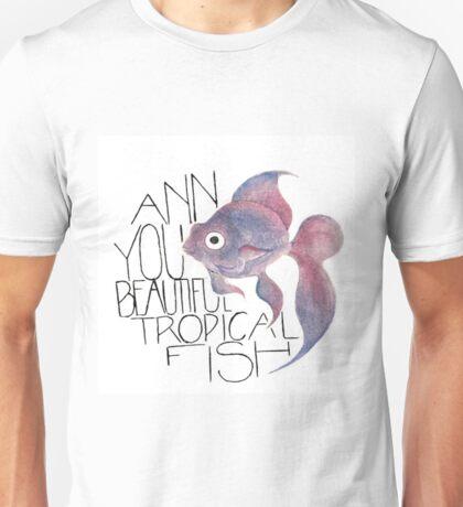 Beautiful Tropical Fish Unisex T-Shirt
