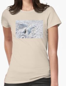 Life's A Beach by Sharon Cummings Womens Fitted T-Shirt