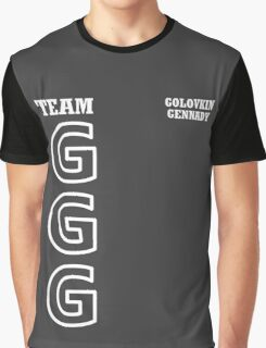 Team GGG Golovkin Graphic T-Shirt