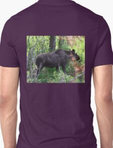 Bubba, the baby bull moose Unisex T-Shirt