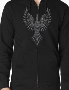 Dark Souls 2 Rebel's Greatshield eagle Zipped Hoodie