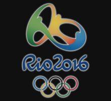 Olympics in Rio 2016 Baby Tee