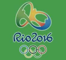 Olympics in Rio 2016 Kids Tee