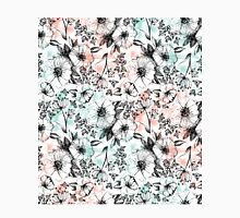 Mint & Peaches Sketchy Floral Classic T-Shirt