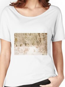 Winter Wonderland Women's Relaxed Fit T-Shirt