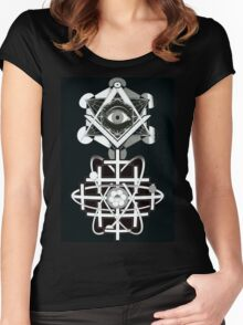 THE EYE OF ATOM SO BE IT Women's Fitted Scoop T-Shirt