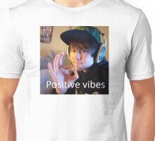 Leafy Positive vibes Unisex T-Shirt