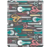 Quilter's Sewing Notions iPad Case/Skin