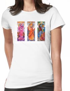 Adventure Time Nouveau Womens Fitted T-Shirt