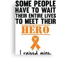 Leukemia Hero Canvas Print