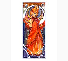 Flame Princess Nouveau Unisex T-Shirt