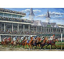 The Kentucky Derby - Churchill Downs Photographic Print