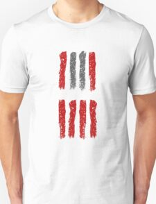 Hateful Eight stripe design Unisex T-Shirt