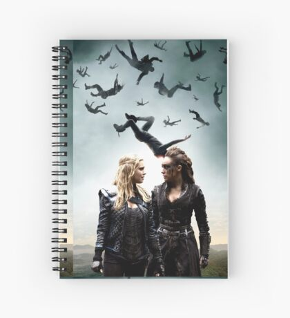 Here's looking at you - Clarke & Lexa  Spiral Notebook
