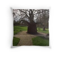 No arms on my tree! Throw Pillow