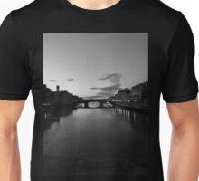 Ponte Vecchio di Notte  Unisex T-Shirt