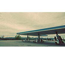 Tuscany - Italian Gas Station Photographic Print