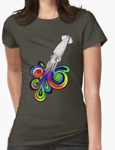 Squid Ink Womens Fitted T-Shirt
