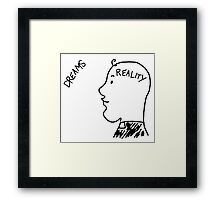Dreams/Reality Father Ted Framed Print