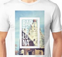 Barcelona Gaudi Work Modernism Park Güell Unisex T-Shirt