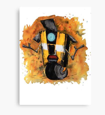 Claptrap Watercolor - Borderlands Canvas Print