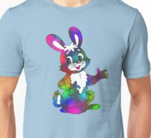 psychedelic easter bunny Unisex T-Shirt