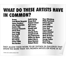 What Do These Artists Have in Common? Poster