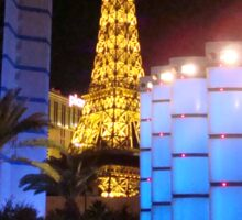 The Vegas Strip ^ Sticker