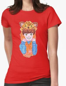 Tiger boy raww Womens Fitted T-Shirt