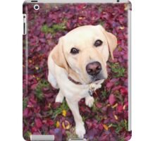 Lab in the Leaves iPad Case/Skin