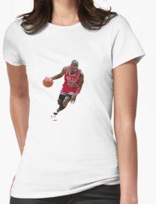 Michael Jordan/ Mikel Jerdan Womens Fitted T-Shirt