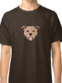 Staffy Smile – Fawn Classic T-Shirt