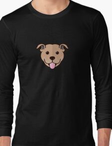 Staffy Smile – Fawn Long Sleeve T-Shirt