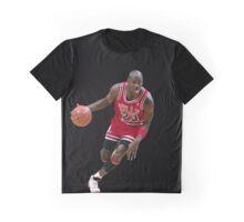 Michael Jordan - Black Graphic Tee Version  Graphic T-Shirt