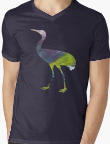 Crane  Mens V-Neck T-Shirt