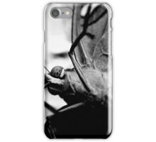Butterfly On Camera Lens iPhone Case/Skin