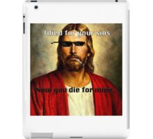 MLG jesus iPad Case/Skin