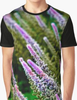 Dipped Purple Graphic T-Shirt