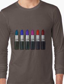 MAC lipstick Long Sleeve T-Shirt