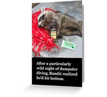 Roadkill Greeting Card