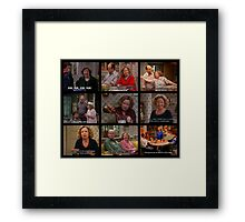 Kitty Forman Quotes Cont. Framed Print