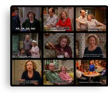Kitty Forman Quotes Cont. Canvas Print